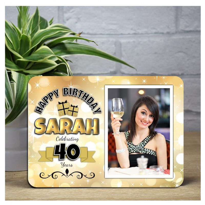 Birthday Photo Panels